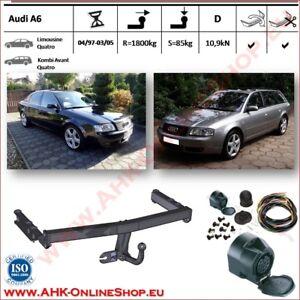 7 pin faisceau Attelage démontable VW Polo 6R Hayon dés 2009 VERTICALE