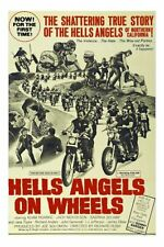1969 HELL/'S ANGELS /'69 VINTAGE MOTORCYCLE MOVIE POSTER PRINT STYLE A 36x24 9 MIL
