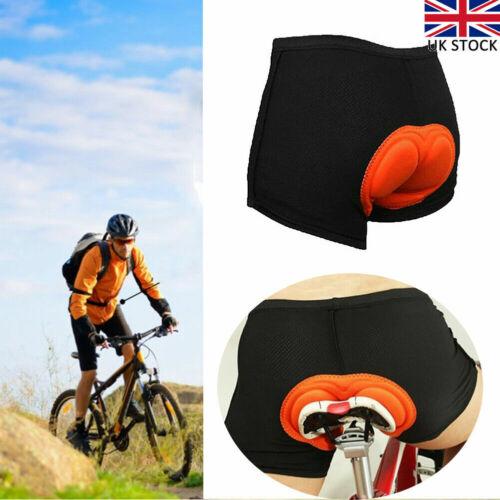 Gel 3D Padded Men Women Coolmax Bicycle Cycling Bike Shorts Underwear Soft Pants