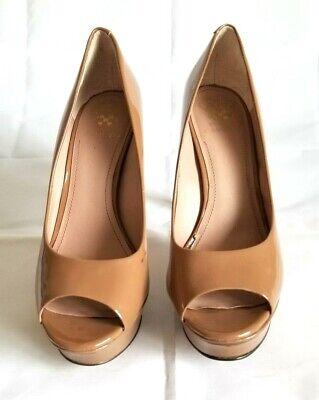 Tony Bianco Kokomo Ankle Strap Heels nude leather women