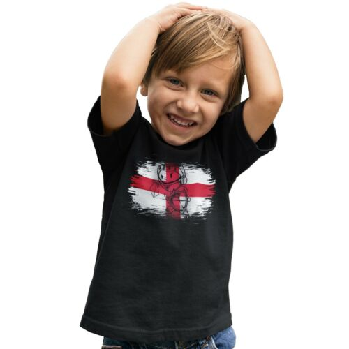 St Georges Day Knight England Flag T Shirt Saint George Dragon Kids Tee