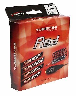 TFT FTM Tubertini Schnur 150m UD1 Red verschiedene Stärken Fishing Tackle Max
