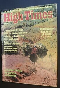 MB-127 High Times Magazine March 1976 Issue Art Kleps Occult Greece, Peyote more