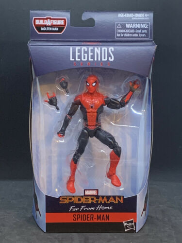 "Far From Home Spider-Man Marvel Legends 6/"" Spider-Man Far From Home Wave 1"