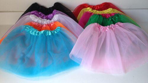 Lot 1//5//10 Soft Tutus Ballet Dress Princess DanceCostume Party Girls Kids Skirt