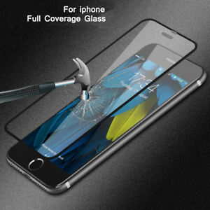 For-iPhone-6-6s-7-8-Plus-X-Screen-Protector-Gorilla-Tempered-Glass-3D-Full-Cover
