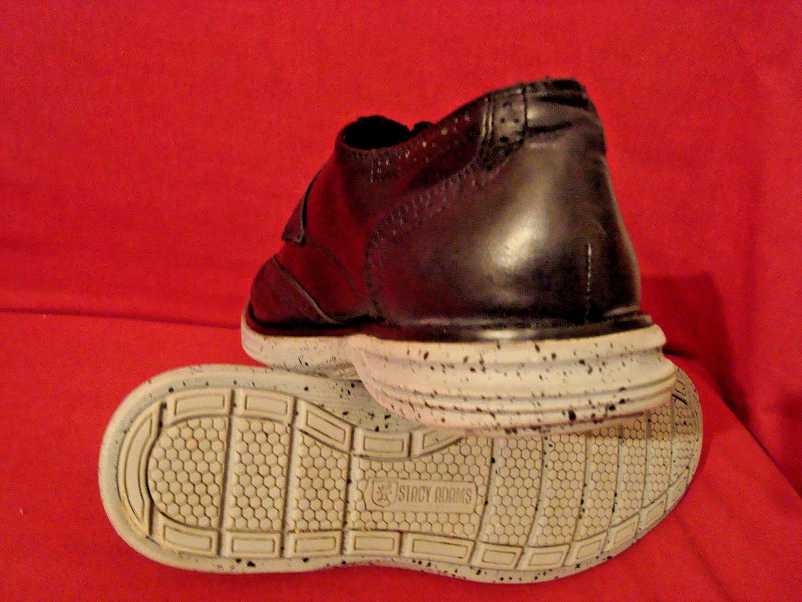 STACY BLACK ADAMS 1875  Herren BLACK STACY & GRAY DRESS CASUAL Schuhe SIZE 10.5 SLIGHTLY WORN d2c303