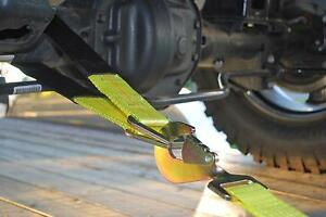 Axle Recovery Strap Car Transporter Strap 2 ft