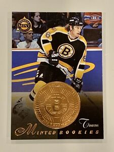 JOE-THORNTON-1998-PINNACLE-MINTED-ROOKIES-HOCKEY-CARD-29