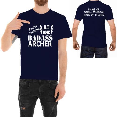 Badass Clay Pigeon Shooter T-Shirt Imprimé Drôle Idéal Anniversaire Cadeau Pour Lui