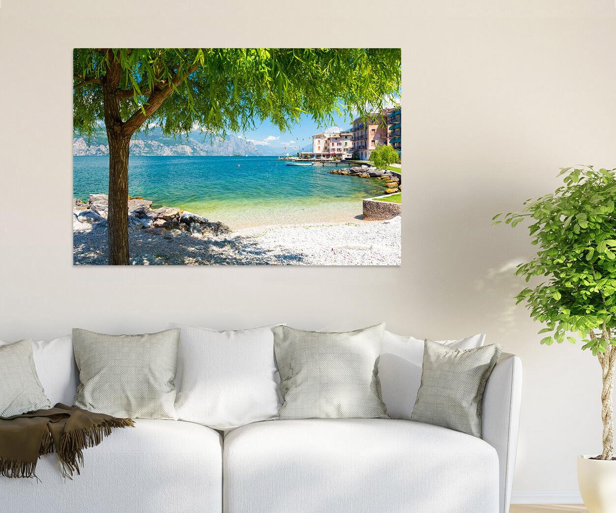 3D Sea Baum, Strand 33 Fototapeten Wandbild BildTapete Familie AJSTORE DE