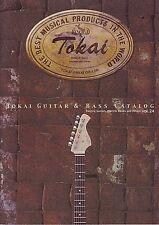 TOKAI ELECTRIC GUITAR & BASS 2010 CATALOG RARE NEW