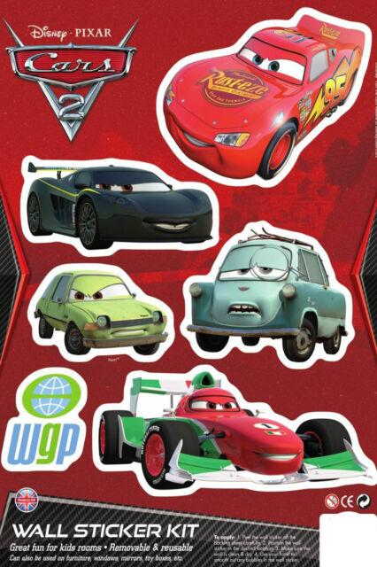 DISNEY Cars 3 fogli di carattere adesivo muro decorazione per soggiorno kit di raccolta