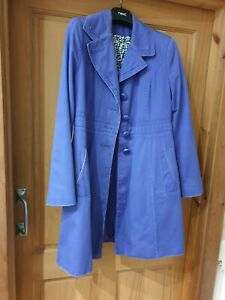 get cheap details for top fashion Ladies coat mac by M&S marks and spencer. size UK 12. Purple ...