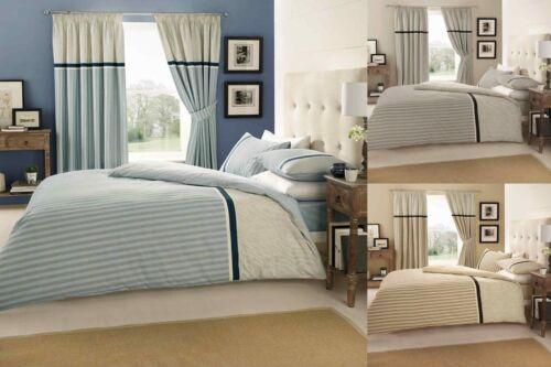 Valeria Striped Duvet Cover Quilt Cover Bedding Set With Pillow Cases Stripe