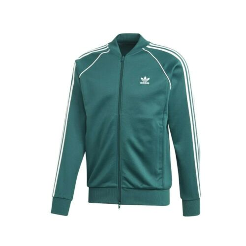 Desafío arco recuerdos  Adidas Originals Men's SST Superstar Track Jacket Noble Green EJ9683  mi-tiles.com