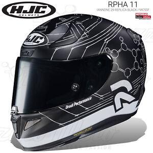 CASCO INTEGRALE HJC RPHA 11 IANNONE 29 REPLICA BLACK / MC5SF 2019 MOTO PINLOCK