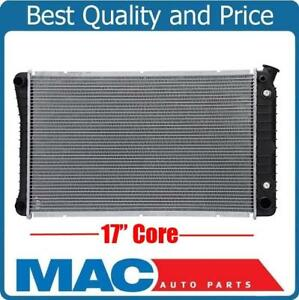 17 Inch Core Radiator GM Truck W Automatic No EOC Check Info With