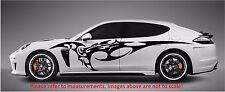 "FURIOUS TRIBAL BLADE SPEED SIDE CAR DECAL STICKERA VINYL CAR TRUCK (70"" x 14"")"