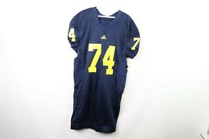 Adidas-Mens-Size-46-Michigan-Wolverines-Football-Team-Issued-Game-Day-Jersey