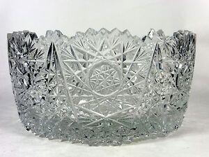 Cut glass bowl vintage