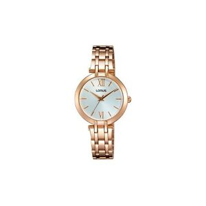 Details About Lorus By Seiko Rg284kx9 Womens Rose Gold Bracelet Watch 30 Metres