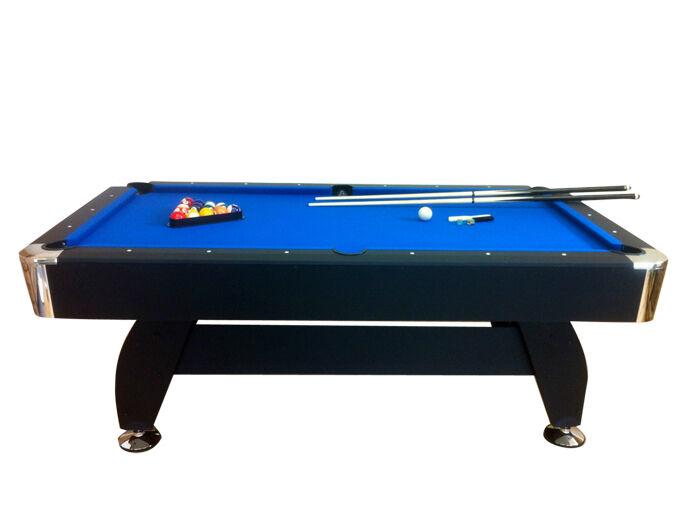 TAVOLO DA BILIARDO + ACCESSORI PER autoAMBOLA  - PANNO BLU - NUOVO billiard table  comprare sconti