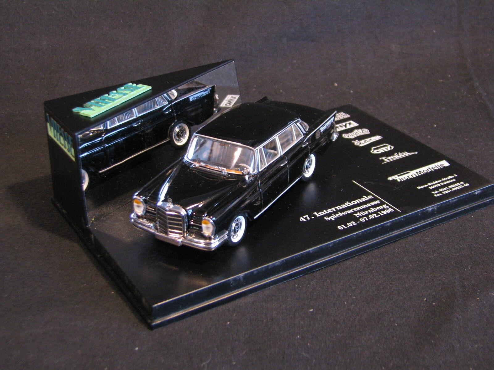 Vitesse Mercedes-Benz 220SE 1 43 47. Internationale Speilwaren Messe 1996 (JS)