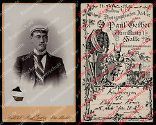 Foto Student Name Burschenschaft Hallenser Wingolf Paul Gerber Halle Saale 1875