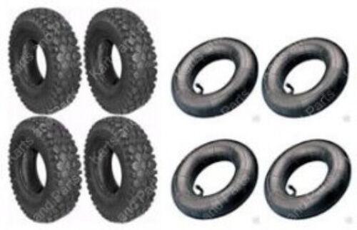 4 4 Tubes Go-Kart Cart GoKart GoCart Mini-Bike 4.10 x 3.50-4 Tires /&
