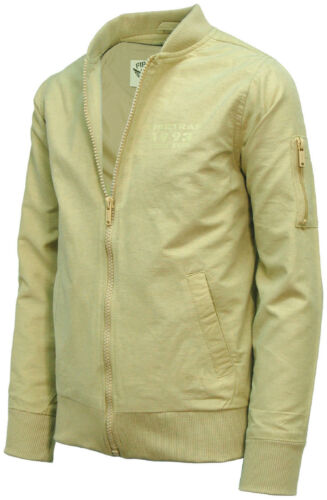Garçons manteau officiel firetrap harrington kaki 2-13 ans