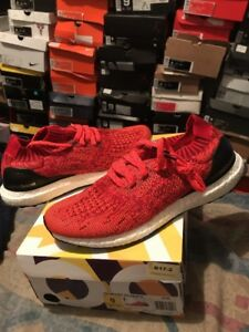 12d18c480fa39 Adidas Ultra Boost Uncaged SOLAR RED Size 9 100% Authentic PK Yeezy ...