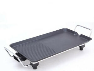 Electric-Teppanyaki-Cooker-Grill-Hot-Plate-BBQ-Grill-Home-Appliances-40CM