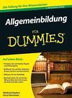 Allgemeinbildung für Dummies von Horst Herrmann und Winfried Göpfert (2012, Taschenbuch)