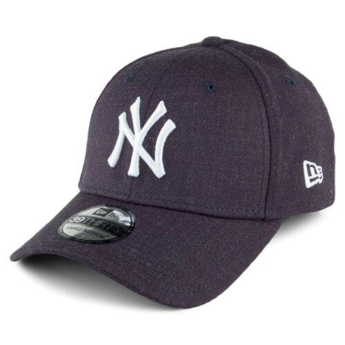 New Era NUOVO da uomo MLB NY Yankees 39Thirty Cappello slavato NEYYAN con