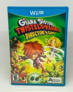 Giana-Sisters-Twisted-Dreams-Director-039-s-Cut-Nintendo-Wii-U-Brand-New