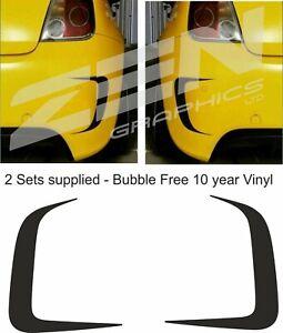 Fiat-500-595-Abarth-Mk1-2-3-rear-bumper-vinyl-surround-Decals-Stickers