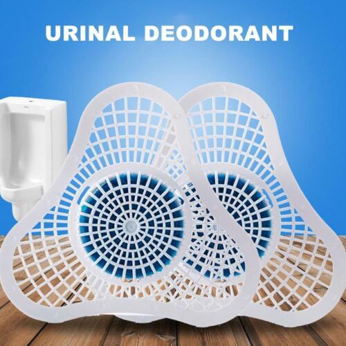2 STÜCKE Stück Toilette Urinal Dreieck Block Deodorant Deodorant Entkalkung IMLY