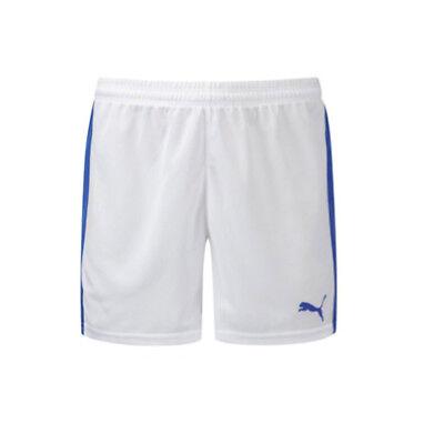 white puma shorts