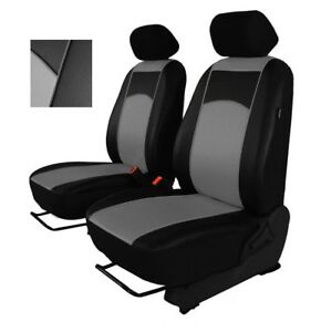FIAT DUCATO 2014 ONWARDS ECO LEATHER /& ALICANTE TAILORED SEAT COVERS