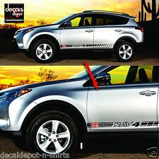 Decal Vinyl Fits TOYOTA RAV4 XLE Parts 2007 2008 2009 2010 2011 2012 to 2017