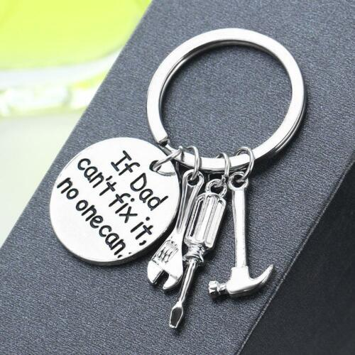 If Dad Cant Fix It No One Can Tools Keyring I Love You Daddy Fathers Day Gift