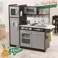 Toy Kitchen Play Set Kids Cooking Children Cook Toys