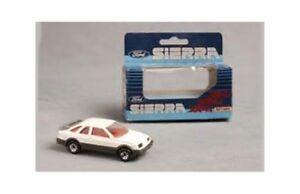 MATCHBOX-FORD-SIERRA-XR4i-diecast-model-road-car-white-grey-body