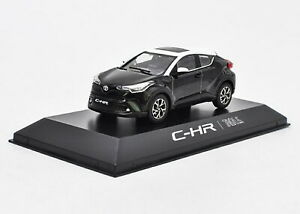 1-43-TOYOTA-CHR-C-HR-Nero-Diecast-Modello-Auto-Giocattolo-Collection