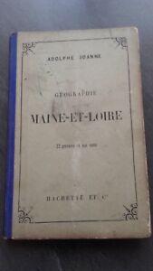 Geografia-Maine-Et-Loire-A-Joanne-1892-Hachette-Paris-22-Impresion-1-Carta