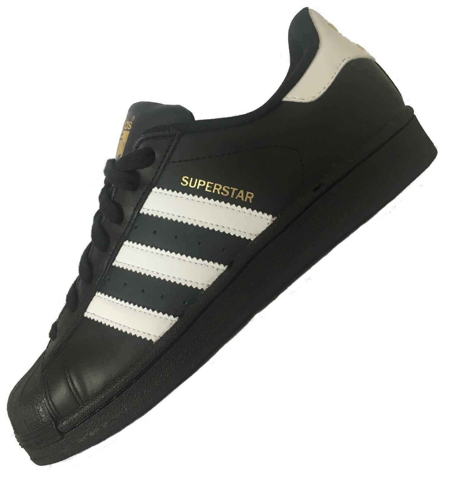 Adidas Superstar Foundation Schwarz / Weiß Unisex Turnschuhe Herren Sneaker NEU