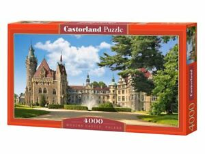 "Castorland Puzzle 4000 Pieces MOSZNA CASTLE, POLAND 54""x27"" Sealed box C-400027"