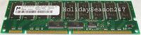 256MB PC133 Server Ram Memory 133Mhz Synch CL3 ECC PC133R-333-541-B1 Micron Dell