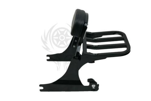 Detachable Sissy Bar Backrest For Harley Softail FLST FXST FXSTB FXSTS 2000-2005